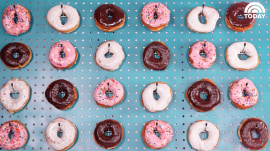 How to make a doughnut wall