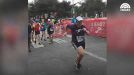 Woman with Down syndrome completes the half marathon