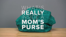 Take a look at what's really inside a mom's purse