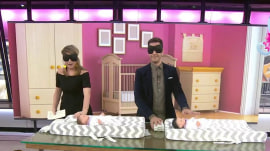 Watch Andy Grammer and Jenna Bush Hager have a diaper-changing race