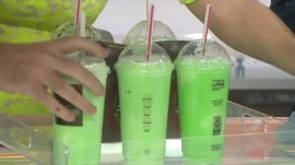 TODAY anchors toast St. Patrick's Day with McDonald's shamrock shakes