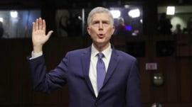 Supreme Court nominee Neil Gorsuch: Trump attacks on judges 'disheartening'