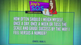 How often should you weigh yourself? Joy Bauer says…