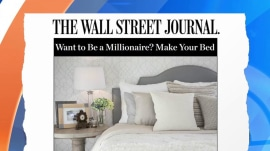 Want to be a millionaire? Start by making your bed!
