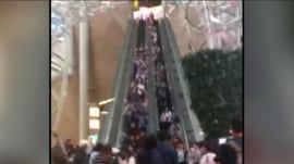 Watch: Escalator suddenly reverses direction, injuring at least 18