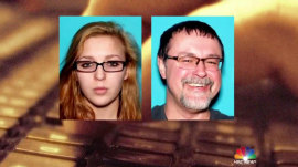 Wife to suspected kidnapper of teen girl: 'You can't hide forever'