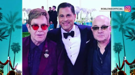 Elton John celebrates 70th birthday (Craig Ferguson claims he was there)