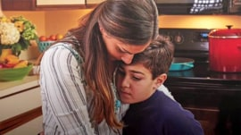 The remarkable way one mom finally connected with her autistic son