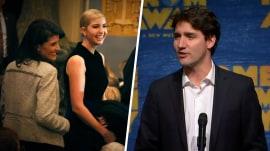Ivanka Trump hits Broadway with Canadian PM Justin Trudeau