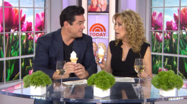 Kathie Lee and Dean Cain celebrate Free Cone Day at Dairy Queen