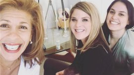 Jenna Bush Hager meets Hoda's new baby, Haley Joy