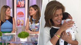 Hoda Kotb is in the 'baby zone' with Haley Joy, Savannah Guthrie says