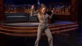 Watch Jennifer Lopez show off her awesome dance moves on Fallon