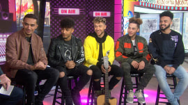 Meet British boy band Mic Lowry: They're Elvis Duran's Artist of the Month