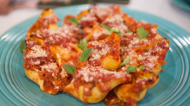 Stuffed shells and caprese salad: Try Reed Alexander's budget-friendly recipe