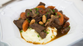 Quick beef stew, velvety smooth mash: Make them for St. Patrick's Day