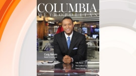 Craig Melvin is on the cover of his hometown magazine, Columbia Metropolitan