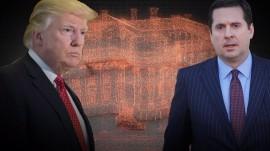 Trump rails against Russia 'hoax' amid calls for Nunes to step down