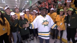 Al Roker is at his alma mater, SUNY Oswego, for grand finale of Rokerthon