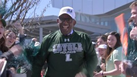 Rokerthon: Al Roker gets to know Loyola University Maryland