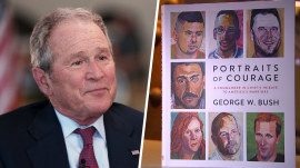 George W. Bush: 'Portraits of Courage' is 'a wonderful opportunity to honor those who served'