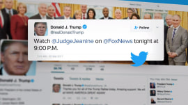 Did Donald Trump know 'Judge Jeanine' would call for Paul Ryan to step down?