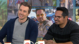 Michael Pena and Dax Shepard talk about 'CHiPs' (and male nudity on screen)