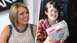 See Dylan Dreyer's adorable throwback photo (in her bathrobe)