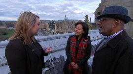 Watch Al and Sheinelle explore Edinburgh, Scotland's capital