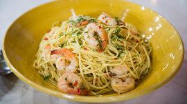 Lemon and chili prawn linguine: Try Clodagh McKenna's recipe