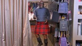 Al Roker goes in search of the perfect kilt in Scotland