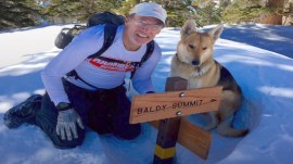 Injured hiker reunites with dog after mountain rescue
