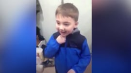 Watch the triumphant moment this boy with autism zips up his jacket all by himself