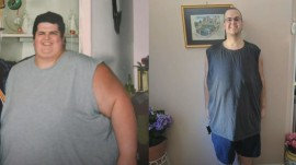 Man loses 374 pounds in 3 years