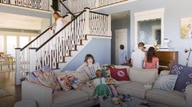 See inside this plane crash survivor's dream home