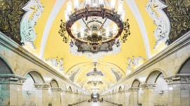 These photos of Russian subway stations are absolutely stunning