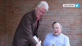 Favorite Things: Minor league baseball, Bill Clinton with George H. W. Bush