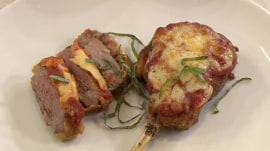 Lamb chop Parmesan, asparagus with prosciutto: Give Easter an Italian flair