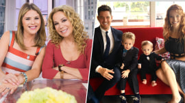 KLG and Jenna Bush Hager wish Michael Buble's son good health after cancer treatment