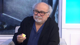 Danny DeVito talks about his Broadway debut (and shows his love of eggs)