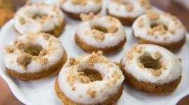 Brown butter banana bread doughnuts: 'Joy the Baker' demonstrates her recipe