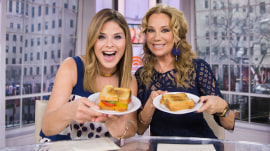 It's National Grilled Cheese Day, and KLG and Jenna reveal their favorites