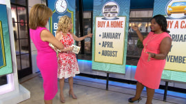 The best month of the year to buy a new home is…