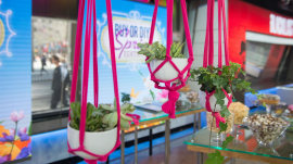Painted ceramics, macramé planters and other spring entertainment trends