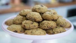 Martha Stewart makes farro chocolate chunk cookies, chocolate beet cookies