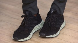 See how 3-D printing is transforming the future of footwear
