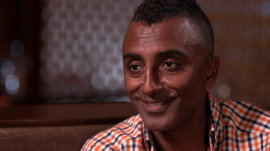 Chef Marcus Samuelsson: I got nervous before I cooked for President Obama