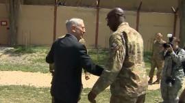 Defense Secretary Mattis makes surprise visit to Afghanistan