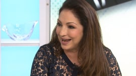 Gloria Estefan: My hubby ended up in the bathroom with the Pope