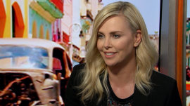 Charlize Theron on 'Fate of the Furious': 'I sit in a chair and say mean things'